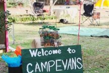 Harrison's 10th Camping Theme Birthday Party / Ideas for Harrison's 10th Birthday Party that is a Camp, Camping Theme / by Krista Canter