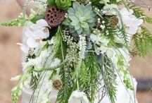Succulent bouquets