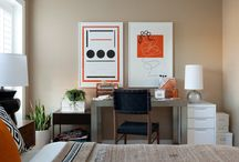 Guest Bedrooms/Home Office / Guest bedroom and home office in one inspiration