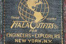 vintage clothes labels