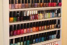 nail polish állvány