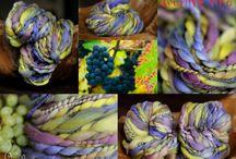 stella-art.sk handspun yarn / Moje vlnky - handspun yarn.