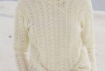 Вязание. Свитера, пуловеры.