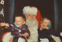 Tots who hate Santa / Sitting on Saint Nick's knee is not their jam.