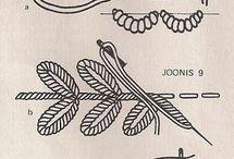 pontos de bordados a mao