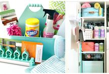 GIVE AWAY Cleaning Caddy and Supplies