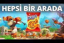 Eti Balık Kraker Reklamı - Bütün Eti Balık Kraker Reklamları Bir Arada