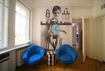 My interiors / my home interiors, places where I live(d) and designed