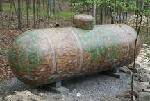 Painted LP Tanks / by Just a Prepper