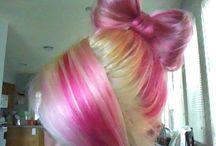 Pink hair / by Laetitia Le Bayon