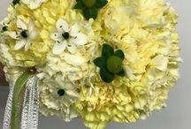 Hääkimput, wedding bouquets / Tekemiäni hääkimppuja
