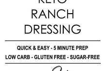 Low carb keto Ranch Dressing