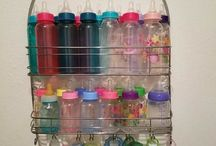 Baby Bottle Organization Ideas