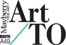 MFA at ArtTO 2016 / Mayberry Fine Art Booth A37 Art Toronto 2016