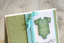 Baby cards / Welcome baby/Baby shower