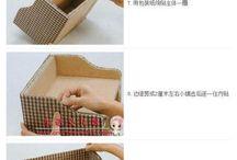 création carton