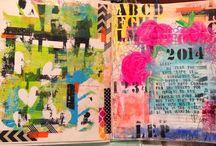 Art Journalling / by Michelle Simonett