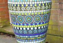 mosaic potte