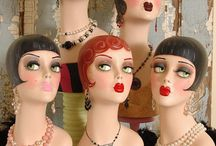 Mannequin Head Displays / Mannequin Heads for hats, jewelry, wigs, art projects and more.Need to rent or buy a mannequin or dress form? A great selection of new and used forms can be found at Mannequin Madness