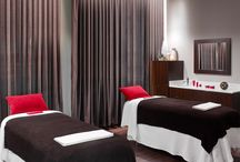 Red Door Spa / Located in our lower lobby, our full service Elizabeth Arden Red Door Spa features six treatment rooms, a signature spa menu, speed services and full service hair salon and retail boutique. / by Garden City Hotel
