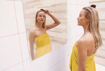1. Spiegelverwarming / Spiegelverwarming zorgt in zeer korte tijd voor een condensvrije spiegel.