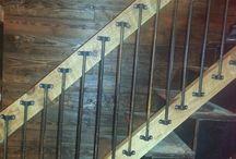 lépcsök,térelválasztok,kerités