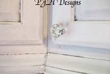 Paint techniques & finishes 4 furniture  / by Kim Connors Donchez