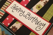 Scrapbooking Birthday Cards