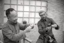 Sha Fei, Photojournalist Extraordinaire / Sha Fei, a pioneer in the field of photojournalism, was born in Guangzhou (Canton), China in 1912 and died of unnatural causes in Shiijiazhuang in 1950. Several of the photos we have today of Dr. Norman Bethune in China we owe to Sha Fei.  For more info on this highly gifted man, please visit: http://www.virtualshanghai.net/References/Biography?ID=25