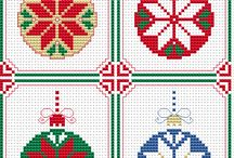 Christmas card cross stitch