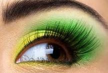 Ojos sombra verde