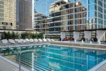 Chicago Luxury Pools / The best luxury pools in the downtown Chicago neighborhoods.