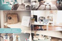 Studio/office / by Kris Allbright