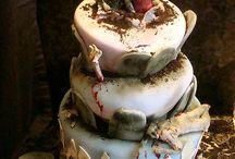 CAKES..HALLOWEEN WEDDING