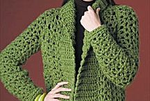 Crocheting-Sweaters/Coats