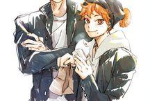 히나타 & 카게야마