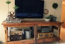 TV stand ideas / by Chris Cavallari