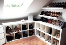 Closet redo / by Tiffany Bodvig