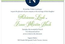 Wedding Invitations / by Ellen Martin Kramer