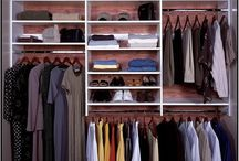 Reach-in Closets / small reach in closets can be fabulous too!