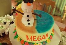 Frozen themed birthday