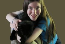 About me / I write Christian YA fiction books. I just love animals! And I also like to work with computer graphics and draw with pencils.