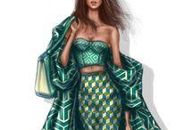 clothes fashion art drawing