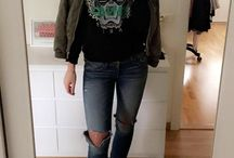 outfits, fall/winter