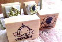 Rubber Stamps / Handmade Rubber stamps by Kikohanko