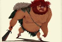 warrior cartoon
