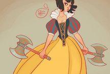 Novas princesas da Disney