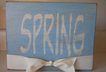 springtime / by Leslie Garside