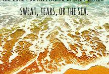 strand en meer...