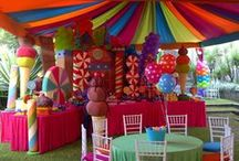 Gumball swirl party bash